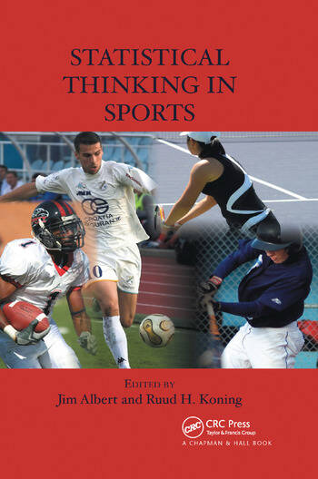 Statistical Thinking in Sports book cover
