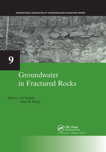 Groundwater in Fractured Rocks IAH Selected Paper Series, volume 9 book cover
