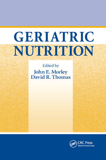 Geriatric Nutrition book cover
