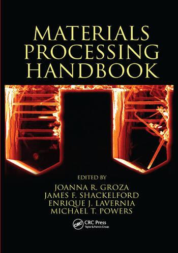 Materials Processing Handbook book cover