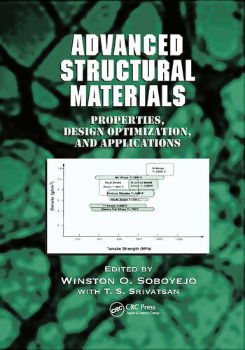 Advanced Structural Materials Properties, Design Optimization, and Applications book cover