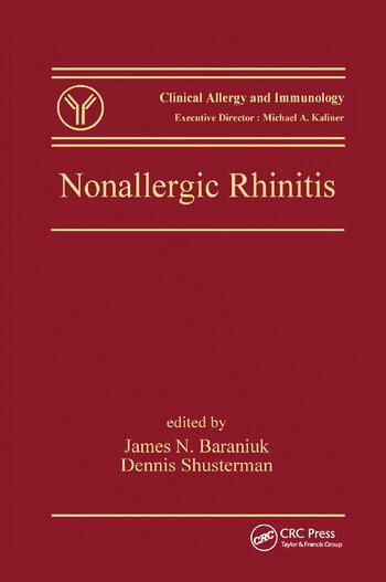 Nonallergic Rhinitis book cover