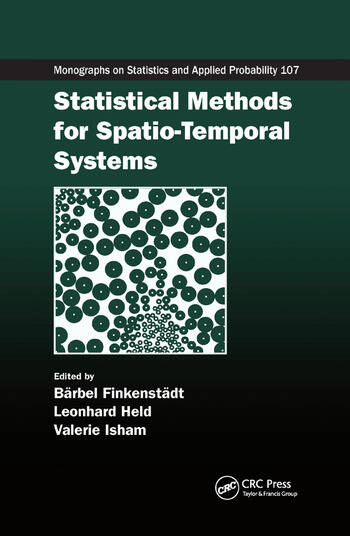 Statistical Methods for Spatio-Temporal Systems book cover