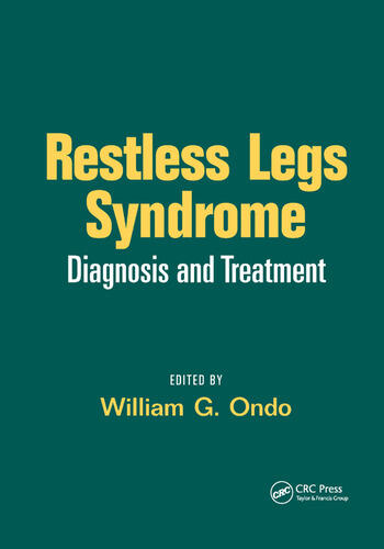 Restless Legs Syndrome Diagnosis and Treatment book cover