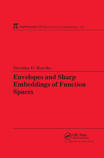 Envelopes and Sharp Embeddings of Function Spaces book cover