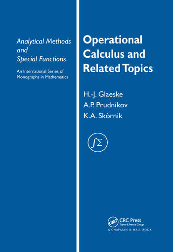 Operational Calculus and Related Topics book cover