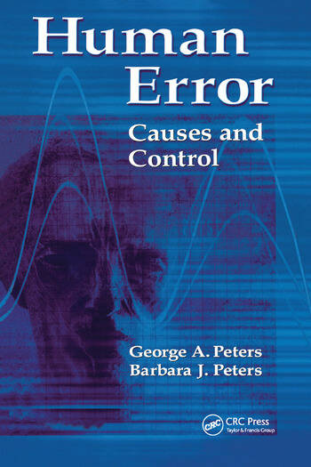 Human Error Causes and Control book cover
