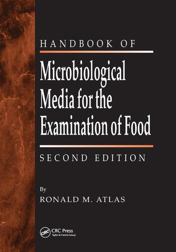 The Handbook of Microbiological Media for the Examination of Food book cover