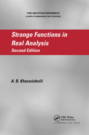 Strange Functions in Real Analysis book cover