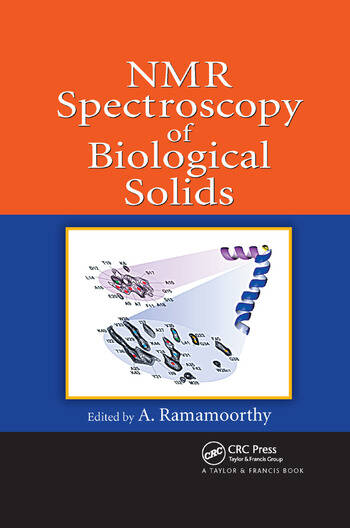 NMR Spectroscopy of Biological Solids book cover