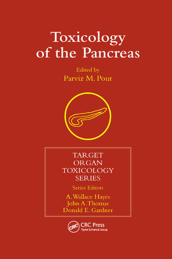 Toxicology of the Pancreas book cover
