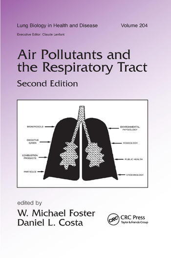 Air Pollutants and the Respiratory Tract book cover