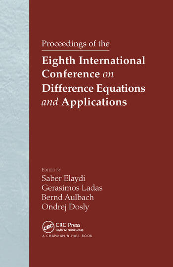 Proceedings of the Eighth International Conference on Difference Equations and Applications book cover