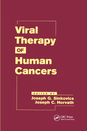 Viral Therapy of Human Cancers book cover