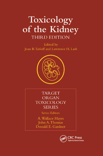 Toxicology of the Kidney book cover