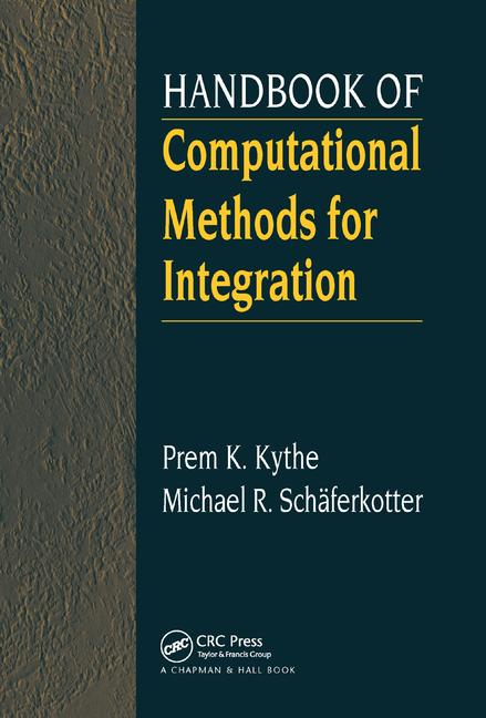 Handbook of Computational Methods for Integration book cover