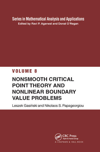 Nonsmooth Critical Point Theory and Nonlinear Boundary Value Problems book cover