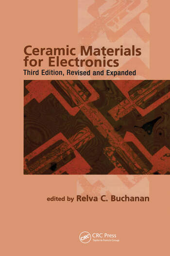 Ceramic Materials for Electronics book cover