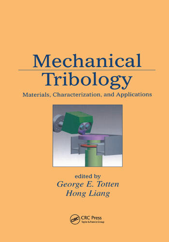 Mechanical Tribology Materials, Characterization, and Applications book cover