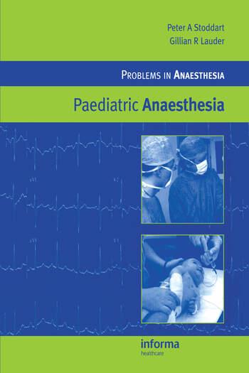 Paediatric Anaesthesia book cover