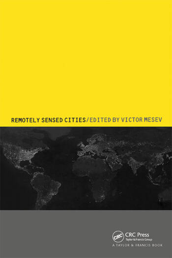 Remotely-Sensed Cities book cover