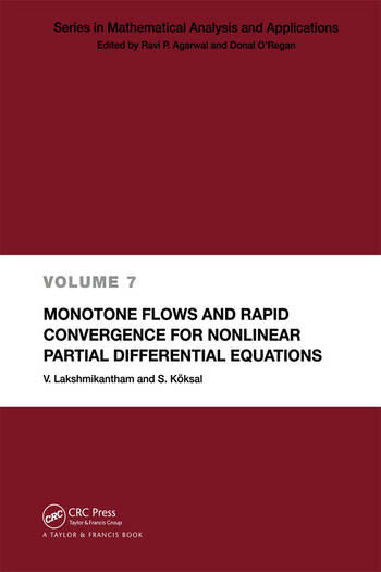 Monotone Flows and Rapid Convergence for Nonlinear Partial Differential Equations book cover