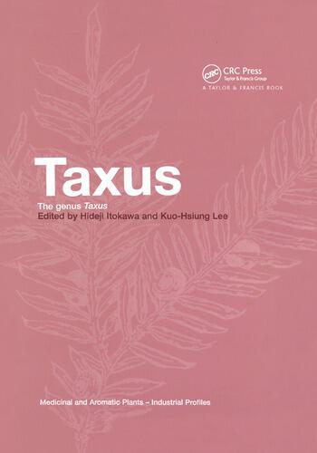 Taxus The Genus Taxus book cover