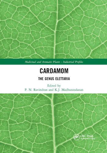 Cardamom The Genus Elettaria book cover