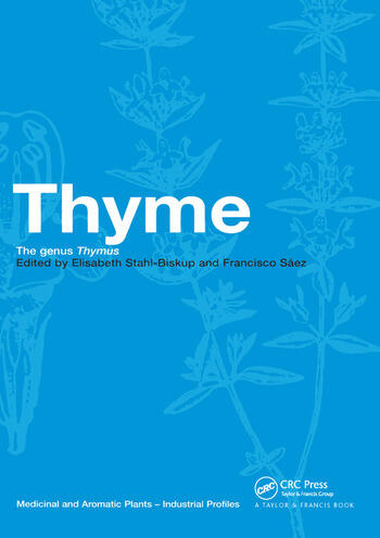 Thyme The Genus Thymus book cover