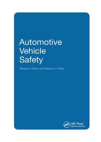 Automotive Vehicle Safety book cover