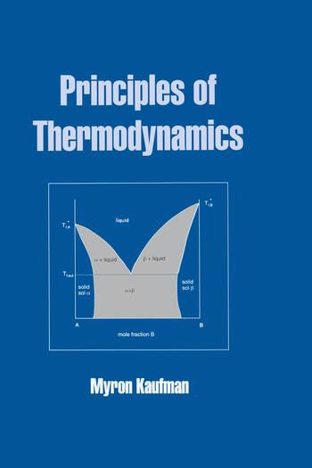 Principles of Thermodynamics book cover