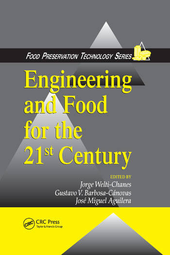 Engineering and Food for the 21st Century book cover