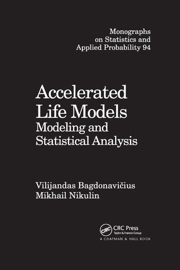 Accelerated Life Models Modeling and Statistical Analysis book cover