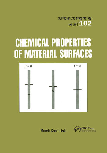 Chemical Properties of Material Surfaces book cover