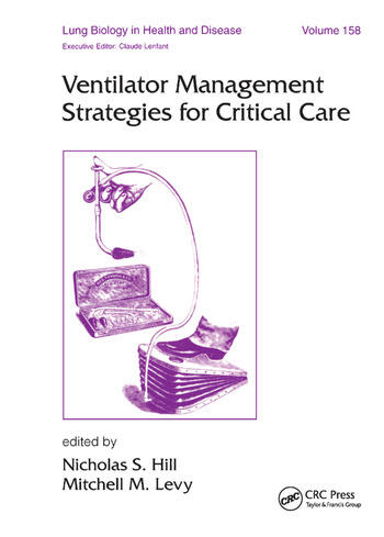 Ventilator Management Strategies for Critical Care book cover