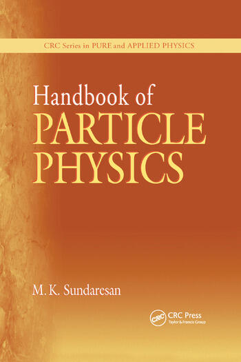 Handbook of Particle Physics book cover