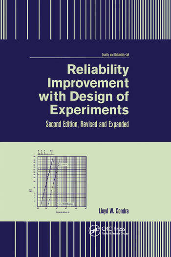 Reliability Improvement with Design of Experiment book cover