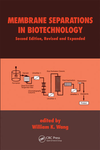 Membrane Separations in Biotechnology book cover