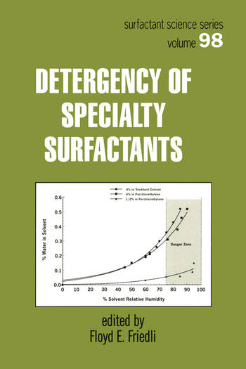 Detergency of Specialty Surfactants book cover