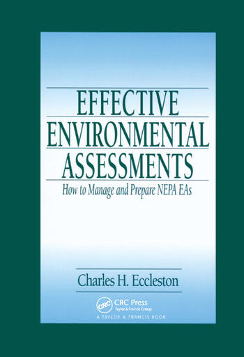Effective Environmental Assessments How to Manage and Prepare NEPA EAs book cover