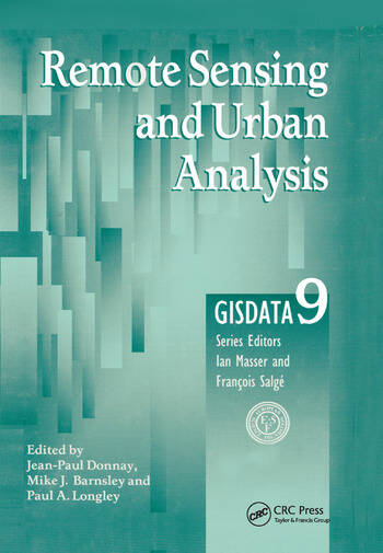 Remote Sensing and Urban Analysis GISDATA 9 book cover