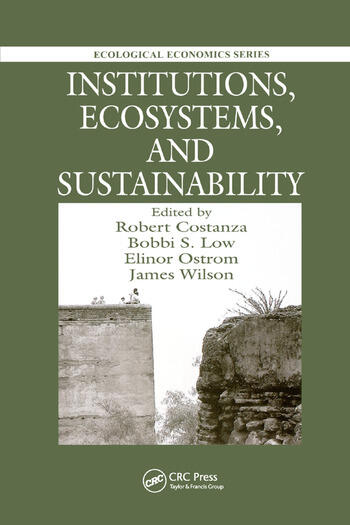 Institutions, Ecosystems, and Sustainability book cover