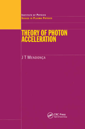 Theory of Photon Acceleration book cover