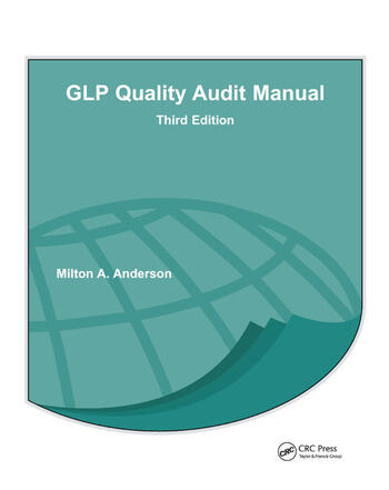 GLP Quality Audit Manual book cover