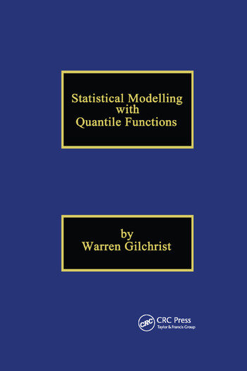 Statistical Modelling with Quantile Functions book cover