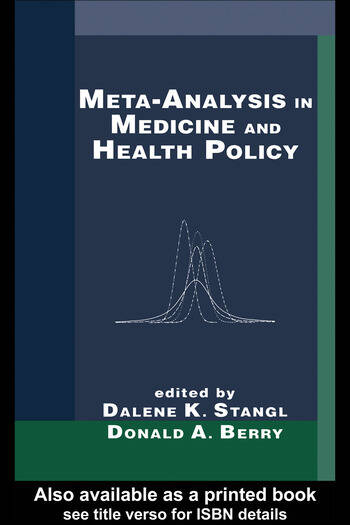 Meta-Analysis in Medicine and Health Policy book cover