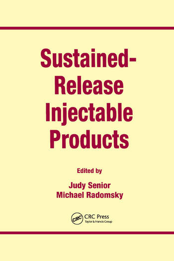 Sustained-Release Injectable Products book cover