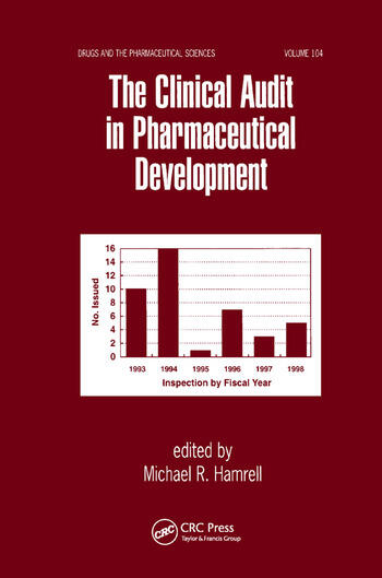 The Clinical Audit in Pharmaceutical Development book cover