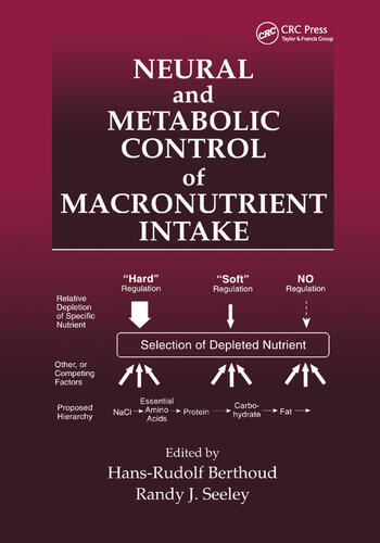 Neural and Metabolic Control of Macronutrient Intake book cover