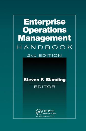Enterprise Operations Management Handbook, Second Edition book cover